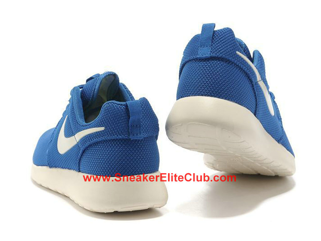 Nike Roshe One Chaussures De Running Pour Homme Bleu Blanc 511881-201
