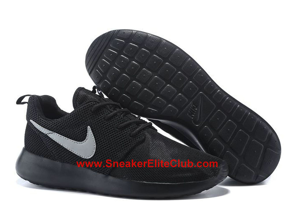 Nike Roshe One Chaussures De Running Pour Homme Noir Gris 599728-017