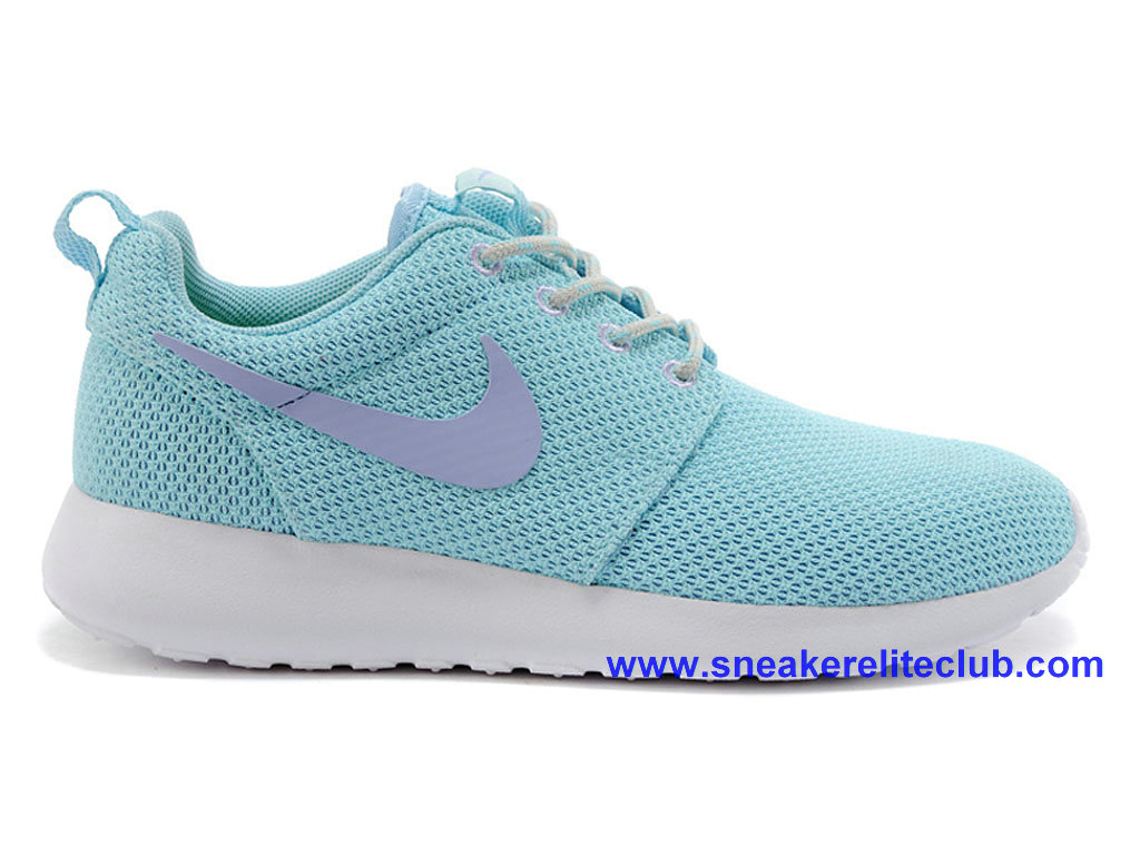 Nike Roshe One Chaussures Pour Femme Bleu/Pourpre 511882-402
