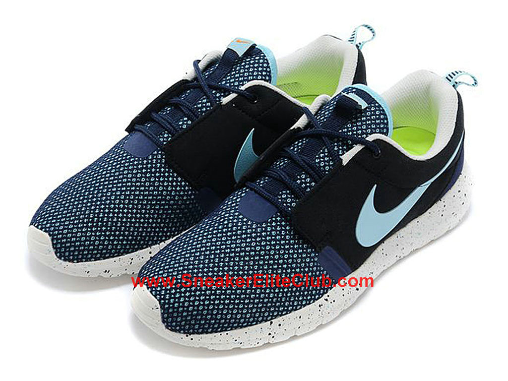 nike roshe one nm breeze chaussures de running pour homme noir bleu blanc 644425 030 1603242130. Black Bedroom Furniture Sets. Home Design Ideas