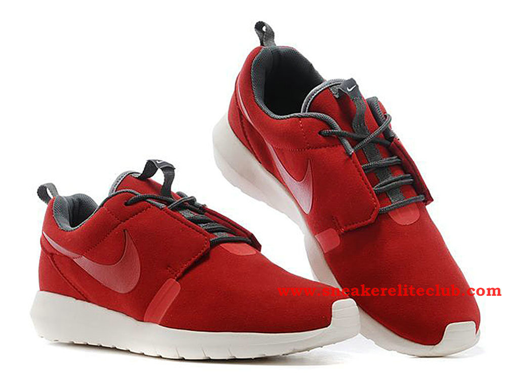 Nike Roshe Run NM Chaussure Homme Running Rouge 631749-666