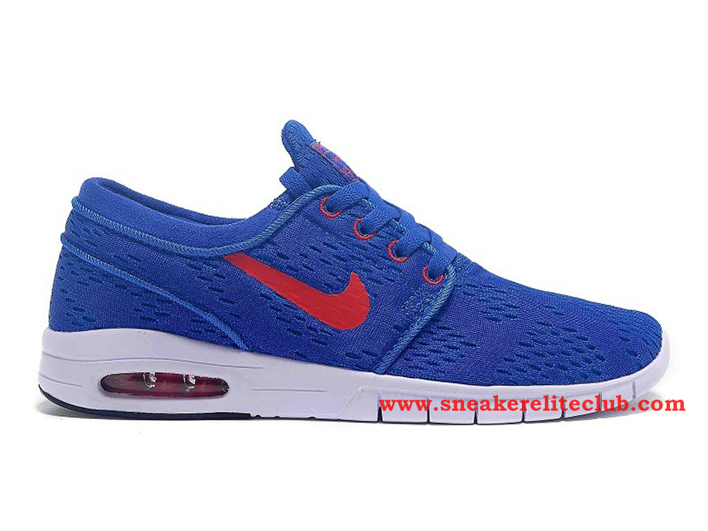 Nike SB Stefan Janoski Max GS Chaussure Femme Blue Rouge 631303-A103