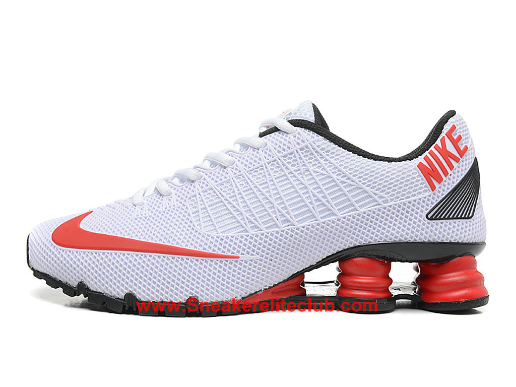Nike Shox Cheap Men´s White Black Red