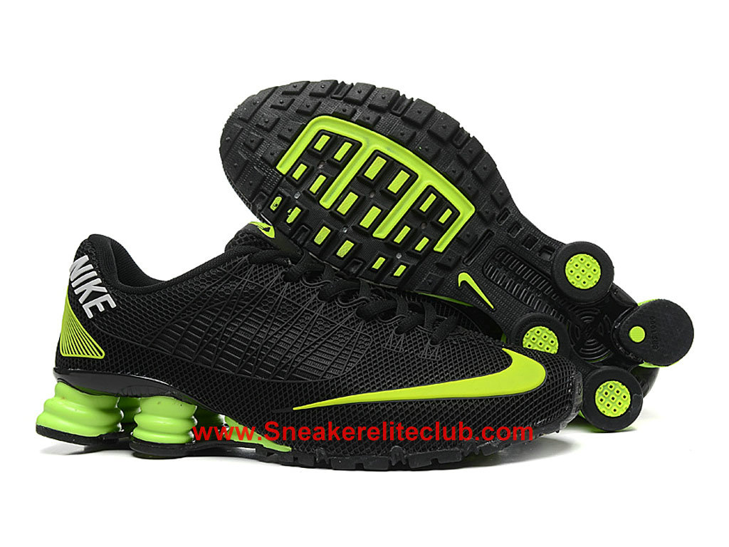 best service e5f9c 55fe8 ... Nike Shox Cheap Men´s Black Green ...