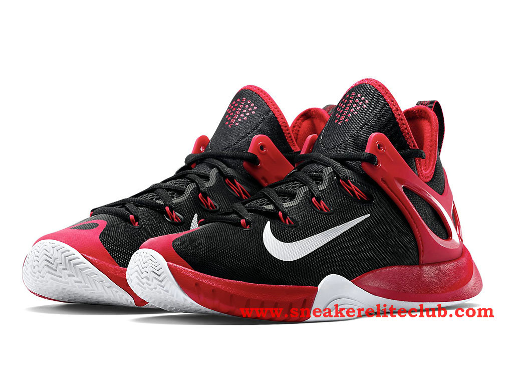 innovative design 7fed3 2921a nike zoom hyperrev 2015 men´s basketball shoes black red white 705370
