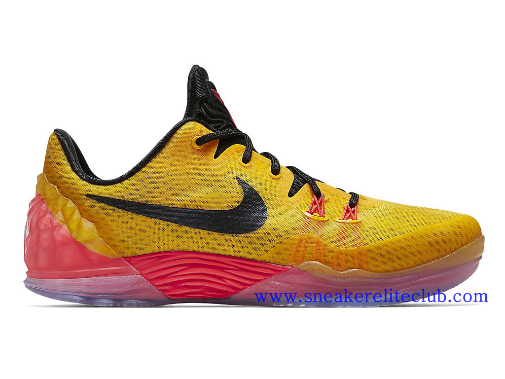 Nike Zoom Kobe Venomenon 5 EP Men´s BasketBall Shoes Black Yellow Red  815757- ...