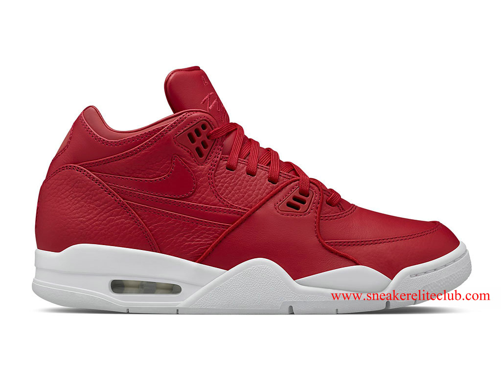 NikeLab Air Flight 89 Homme Pas Cher Rouge/Blanc 828295_600