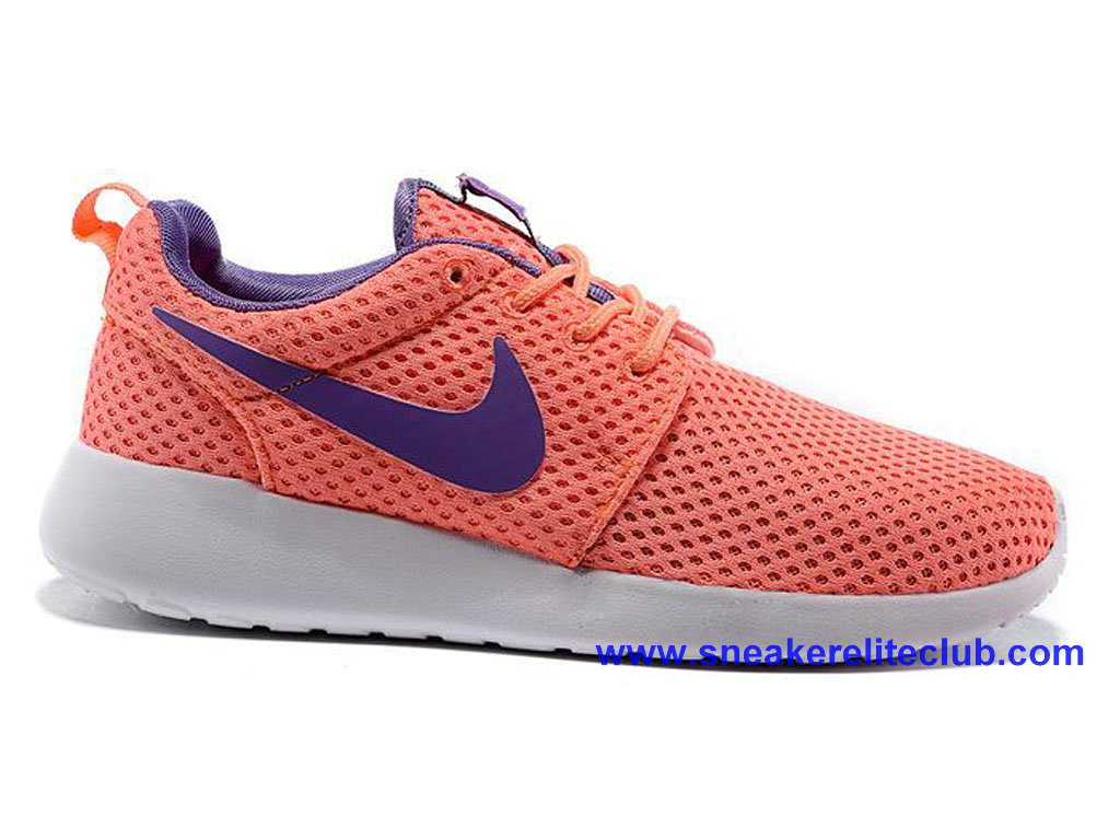 Pas Cher Chaussures Femme Nike Roshe One Rose/Pourpre 724850-661