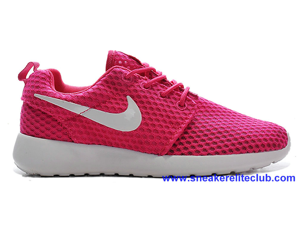 Pas Cher Chaussures Femme Nike Roshe One Rouge/Blanc 724850-ID1