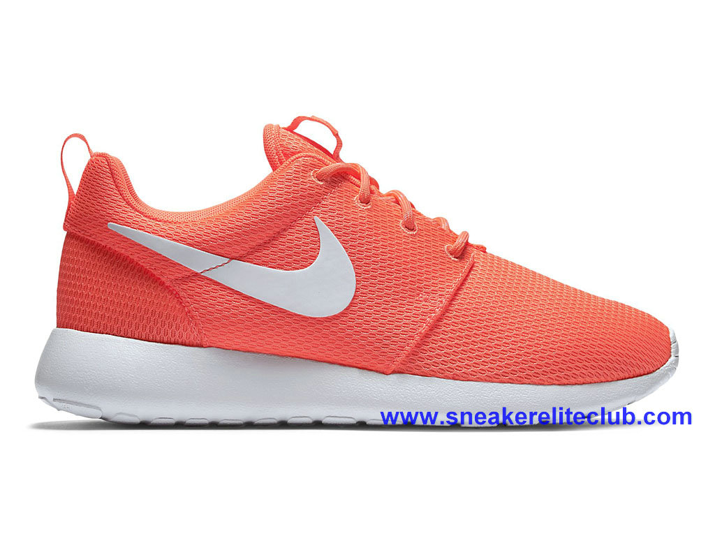 pas cher chaussures nike roshe one femme rose blanc 511882 811 1603262143 chaussure nike. Black Bedroom Furniture Sets. Home Design Ideas